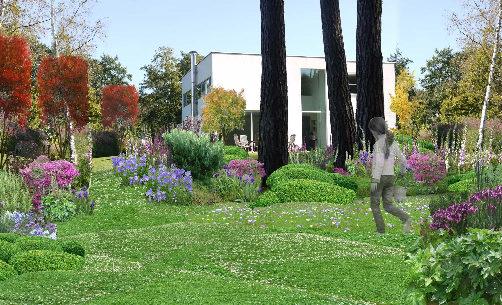 Kabinet pepijn verheyen moderne tuin in 2016 kabinet for Moderne tuin
