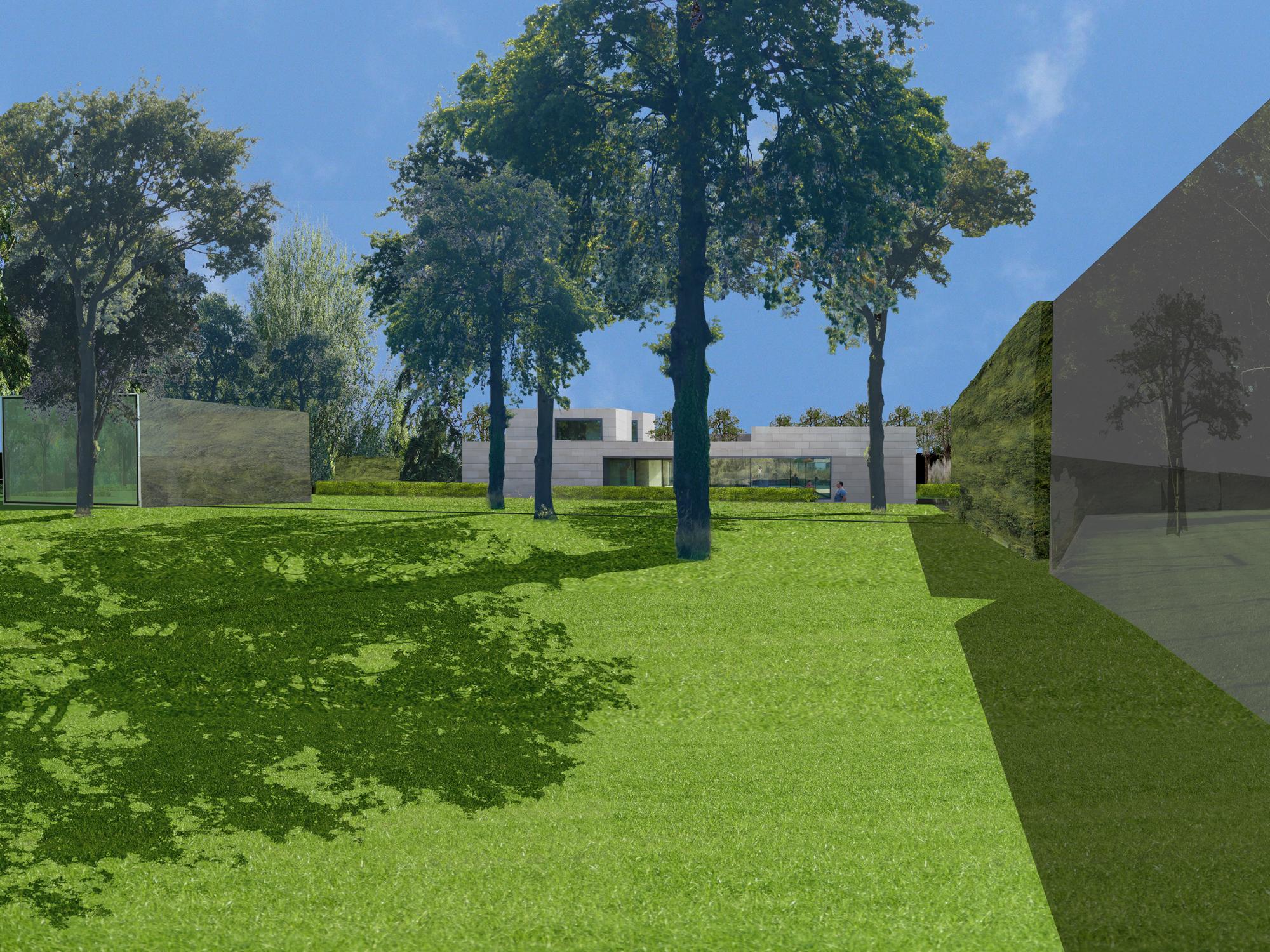 Kabinet pepijn verheyen tuinarchitectuur kabinet pepijn verheyen - Moderne landschapsarchitectuur ...